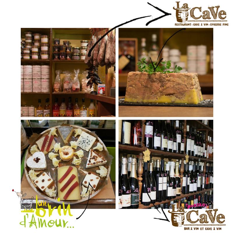 Des photos des produits proposés par La CaVe et d'un Brin d'Amour